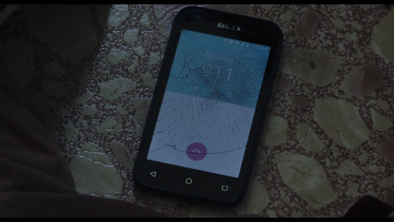 BLU Smartphone Used by Ana de Armas as Marta Cabrera in Knives Out (2019) Movie