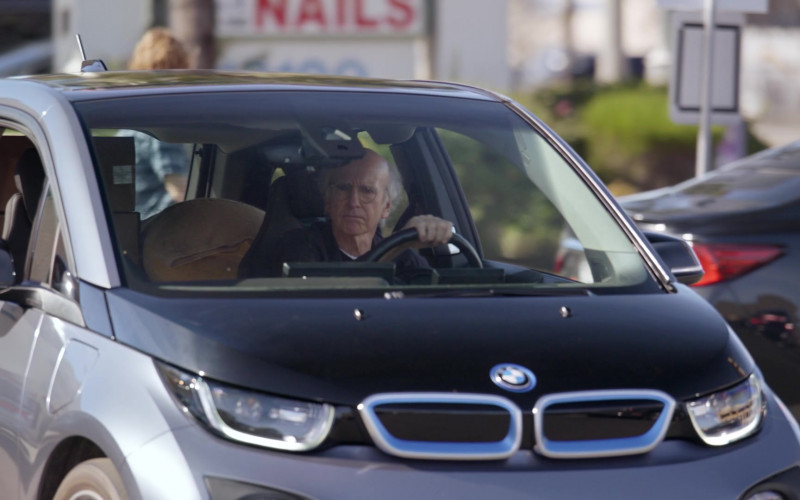 BMW i3 Car Driven by Larry David in Curb Your Enthusiasm S10E06 The Surprise Party (1)