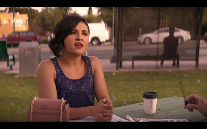 Brasil Kiss Coffee Enjoyed by Annie Gonzalez as Lidia Solis in Gentefied S01E04 (1)