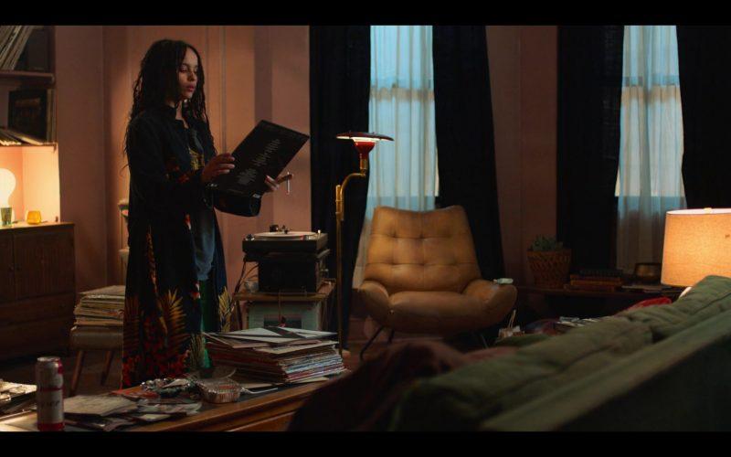 Budweiser Beer Enjoyed by Zoë Kravitz as Rob in High Fidelity Season 1 Episode 1 Top Five Heartbreaks (2020)