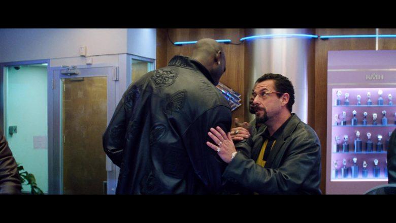 Celtics NBA Leather Jacket Worn by Kevin Garnett in Uncut Gems (1)