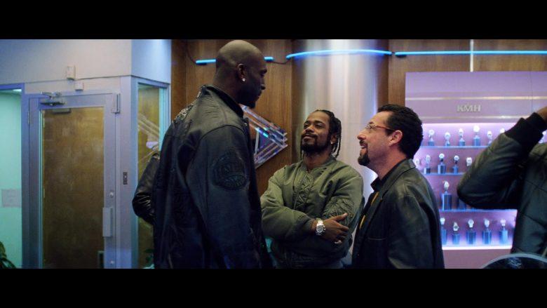 Celtics NBA Leather Jacket Worn by Kevin Garnett in Uncut Gems (2)