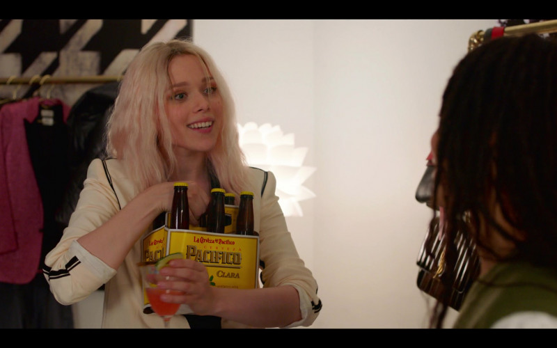 Cerveza Pacífico Clara Beer Enjoyed by Ivanna Sakhno as Kat Monroe in High Fidelity Season 1 Episode 4 (1)