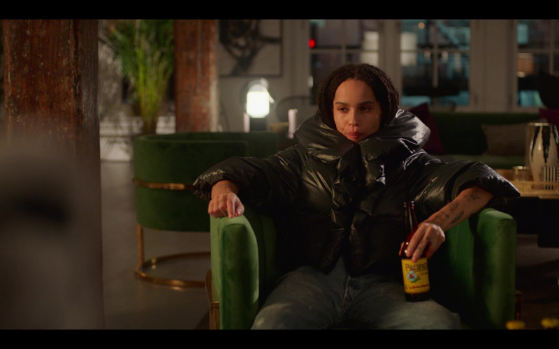 Cerveza Pacífico Clara Mexican Pilsner-Style Beer Enjoyed by Zoë Kravitz as Rob in High Fidelity Season 1 Episode 4 (3)