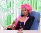 Chanel Dress Worn by Nicki Minaj in Nice to Meet Ya by Meghan Trainor 2020 (1)