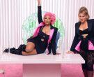 Chanel Dress Worn by Nicki Minaj in Nice to Meet Ya by Meghan Trainor 2020 (3)