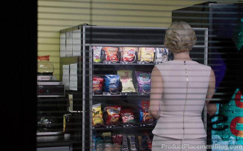 Cheetos, Fritos, Lays, Cheez-It, UTZ, Bugles, Hershey's in Bombshell (2019)