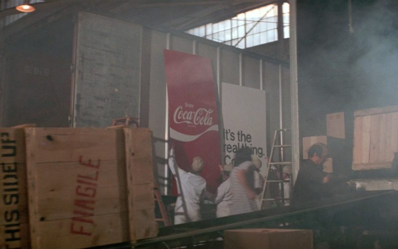 Coca-Cola Poster in Close Encounters of the Third Kind (1)