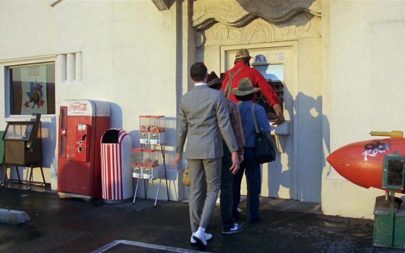 Coca-Cola Vending Machine in Pee-wee's Big Adventure (1985)