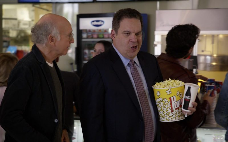 Coca-Cola Zero Soda Cup Held by Jeff Garlin in Curb Your Enthusiasm Season 10 Episode 3 Artificial Fruit (1)