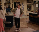 Converse High Top Sneakers Worn by Reed Horstmann as Stick Goldstein in The Expanding Universe of Ashley Garcia (1 (3)