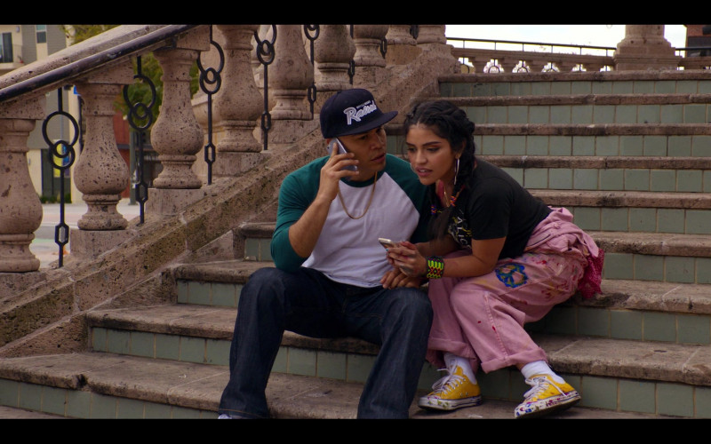 Converse Yellow Shoes Worn by Karrie Martin as Ana Morales in Gentefied S01E02 Bail Money (2020)