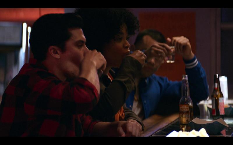 Corona Light Beer Bottle in Gentefied S01E01 Casimiro (2020)