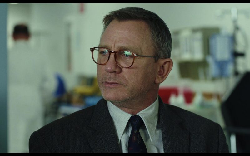 Cutler & Gross 1303-05 Honey Turtle Optical Glasses Worn by Daniel Craig as Benoit Blanc in Knives Out (3)