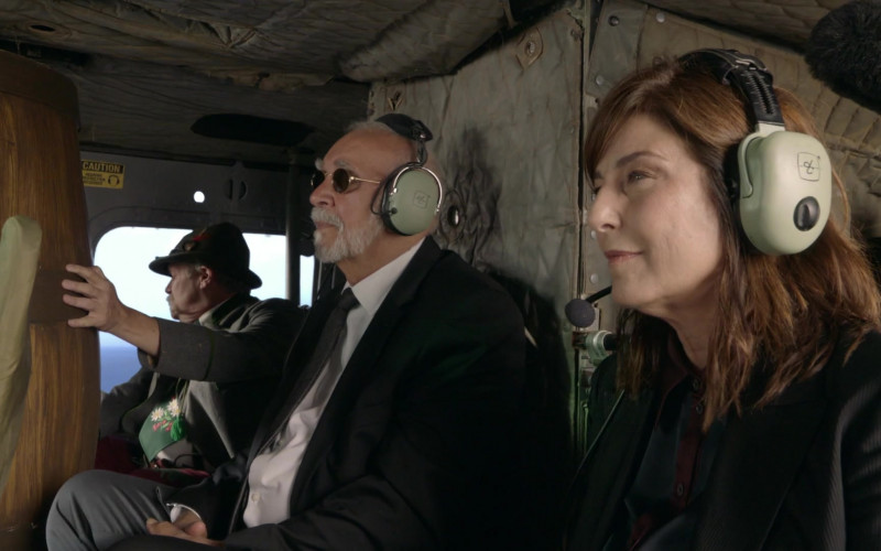 David Clark Headsets Used by Frank Langella & Catherine Keener in Kidding S02E06