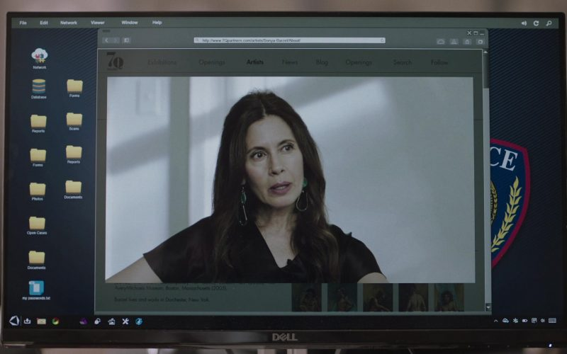 Dell Computer Monitor in The Sinner Season 3 Episode 1 Part I