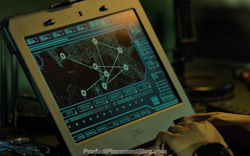 Dell Laptop in Strike Back S08E03 (1)