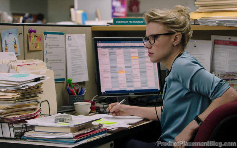 Dell Monitor Used by Kate McKinnon in Bombshell (2019)