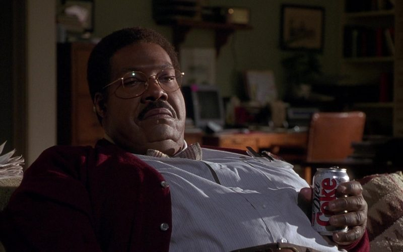 Diet Coke Soda Enjoyed by Eddie Murphy in Nutty Professor II The Klumps (2)