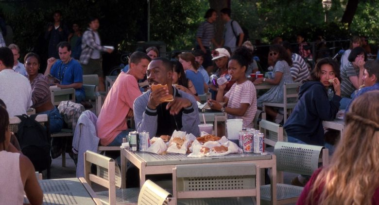 Diet Slice and Pepsi Soda Enjoyed by Eddie Murphy in The Nutty Professor (1996)