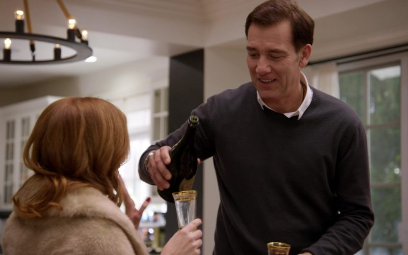 Dom Pérignon Champagne in Curb Your Enthusiasm Season 10 Episode 5 Insufficient Praise (2020)