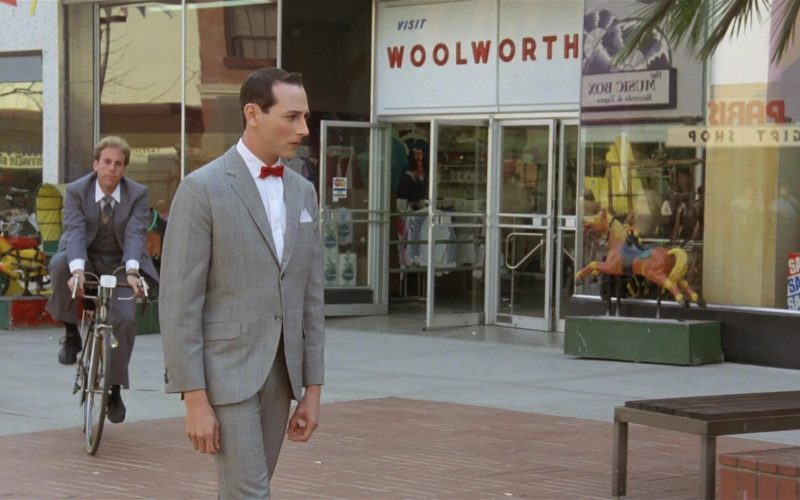 F. W. Woolworth Company Store in Pee-wee's Big Adventure (2)