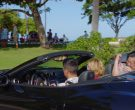 Ferrari Black Convertible Sports Car Used by Jay Hernandez & Perdita Weeks in Magnum P.I. Season 2 Episode 14 (2)