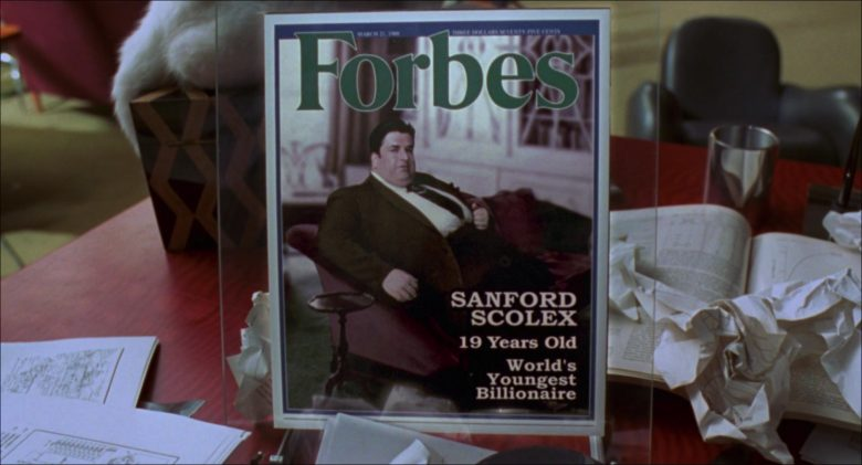 Forbes Magazine in Inspector Gadget (1999)