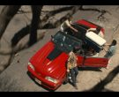 Ford Mustang Red Convertible Car in Narcos Mexico Season 2 Episode 5 AFO (2)
