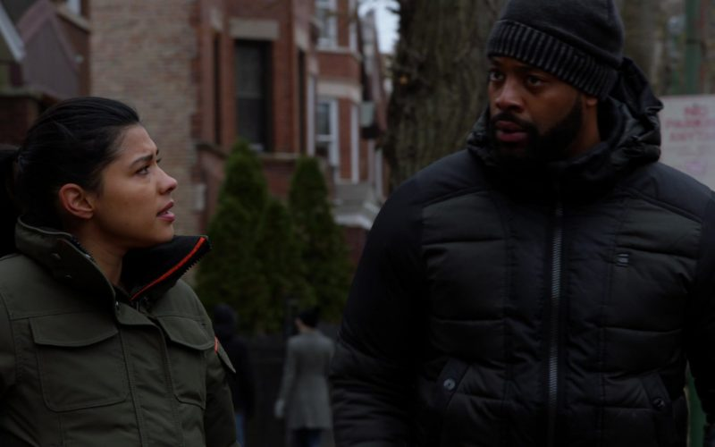 G-Star RAW Jacket Worn by LaRoyce Hawkins as Officer Kevin Atwater in Chicago P.D. Season 7 Episode 13 I Was Here (2)