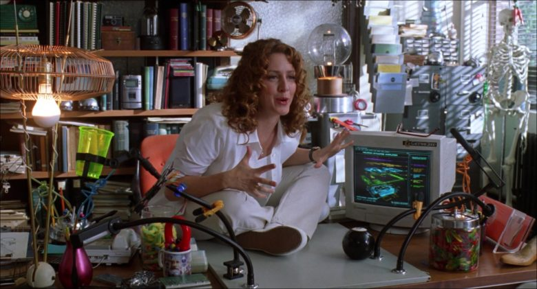 Gateway 2000 Monitor Used by Joely Fisher as Dr. Brenda Bradford in Inspector Gadget (1999)