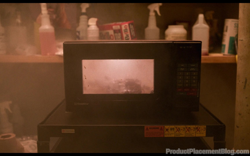 GoldStar Microwave Oven in I Am Not Okay with This S01E05 Another Day in Paradise (2020)