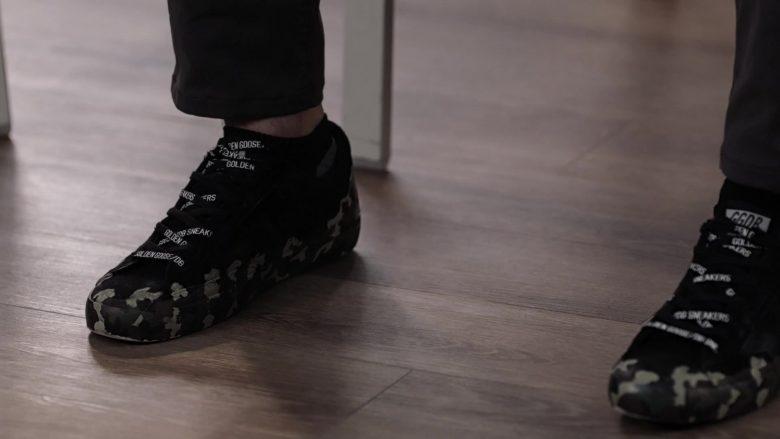 "Golden Goose Sneakers Worn by Ronen Rubinstein as Tyler Kennedy Strand in 9-1-1: Lone Star Season 1 Episode 5 ""Studs"" (2020) TV Show"