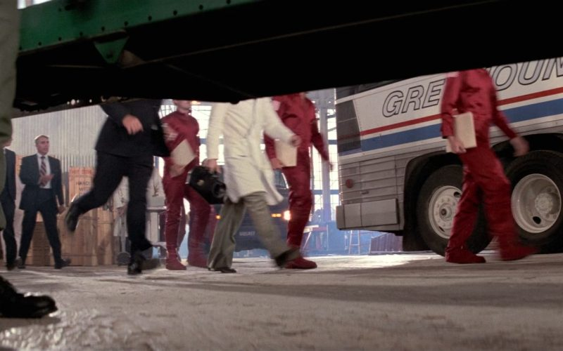 Greyhound Lines Bus in Close Encounters of the Third Kind