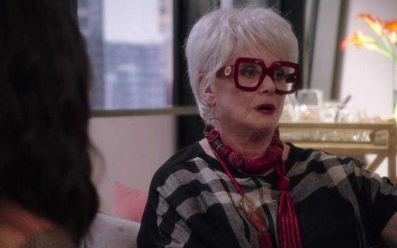 Gucci Red Frame Eyeglasses For Women in The Bold Type Season 4 Episode 2 #scarlet (2020)