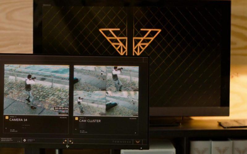 HP Monitor Used by Elizabeth Banks as Rebekah 'Bosley' in Charlie's Angels (1)