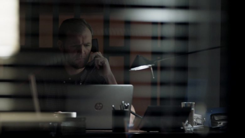 HP Notebook Computer in Homeland Season 8 Episode 1 Deception Indicated (2020)