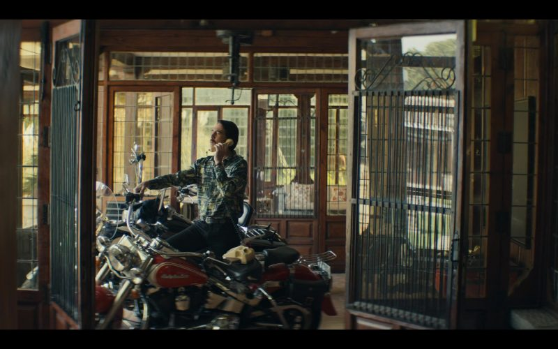 Harley-Davidson Motorcycle in Narcos Mexico Season 2 Episode 8 (2020)