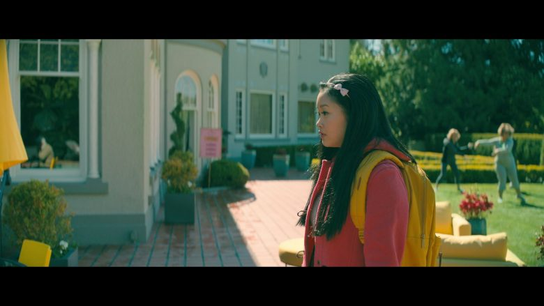 Herschel Yellow Backpack Used by Lana Condor as Lara Jean Song Covey in To All the Boys: P.S. I Still Love You (2020) Movie