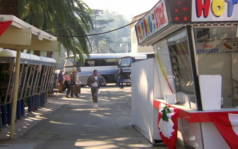 Hot Dog on a Stick in Pee-wee's Big Adventure (1985)