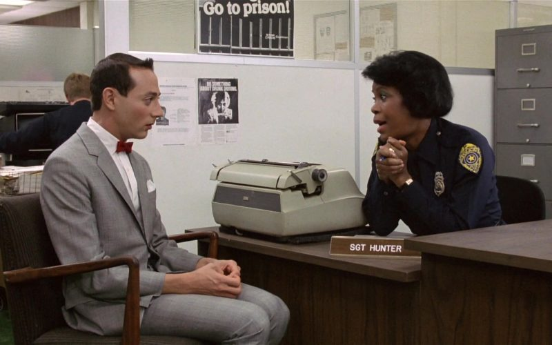 IBM Typewriter Used by Starletta DuPois as Sgt. Hunter in Pee-wee's Big Adventure (1985)