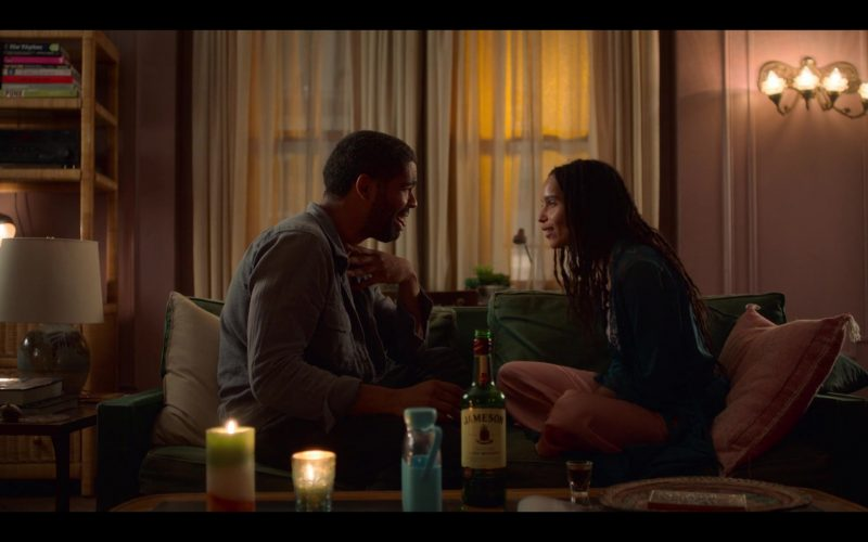 Jameson Irish Whiskey Enjoyed by Zoë Kravitz and Kingsley Ben-Adir in High Fidelity Season 1 Episode 1 Top Five Heartb