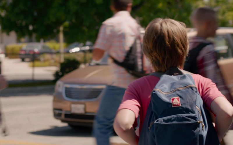 JanSport Backpack Used by Ed Oxenbould in Alexander and the Terrible, Horrible, No Good, Very Bad Day (2014)