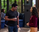 JanSport Trans Backpack Used by Paulina Chávez in The Expanding Universe of Ashley Garcia Season 1 Episode 1 (2)