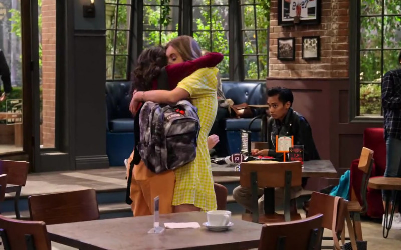 JanSport Trans Backpack Used by Paulina Chávez in The Expanding Universe of Ashley Garcia Season 1 Episode 1 (3)