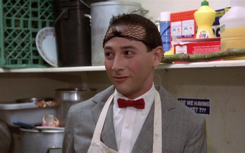 Joy Dishwashing Liquid in Pee-wee's Big Adventure (1985)