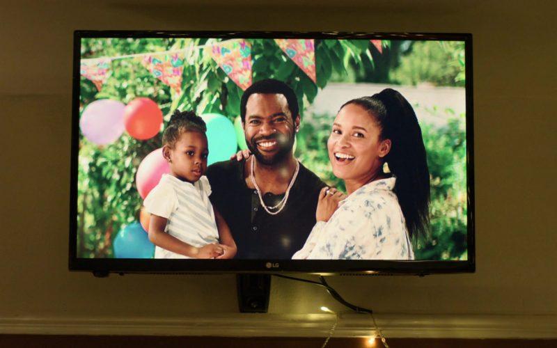 LG TV in For Life Season 1 Episode 1 Pilot (2020)
