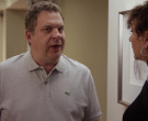 Lacoste Grey Polo Shirt Worn by Jeff Greene in Curb Your Ent...