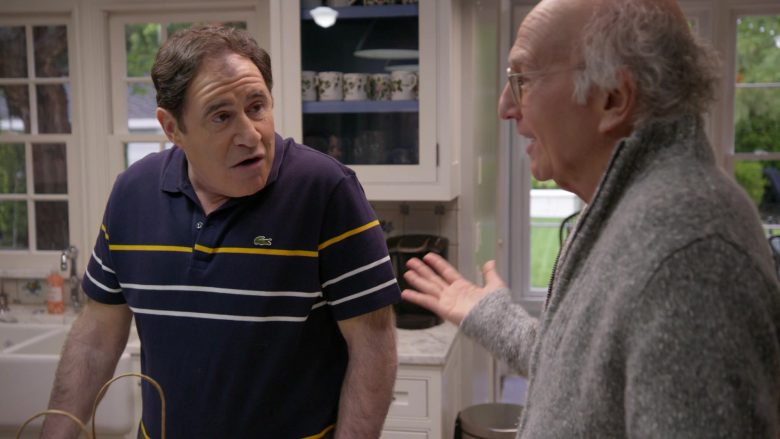 Lacoste Polo Shirt Worn by Richard Kind in Curb Your Enthusiasm Season 10 Episode 3 Artificial Fruit (2)