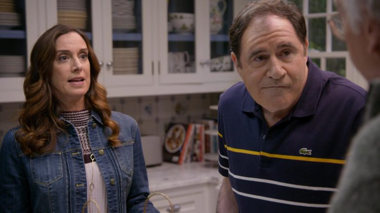 Lacoste Polo Shirt Worn by Richard Kind in Curb Your Enthusiasm Season 10 Episode 3 Artificial Fruit (4)